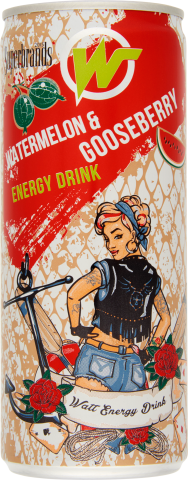 WATT ENERGY Watermelon & Gooseberry