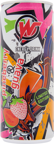WATT ENERGY Pineberry & Guava